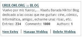 1000 participaciones en uruloki.org