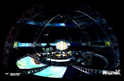 Laboratorio del Doctor Doom en el espacio