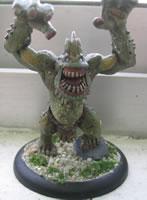 Troll de los puentes (Figura pintada por Jagoro)