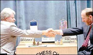El reencuentro entre Spassky y Fischer en 1992