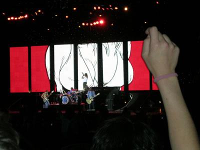 Otra foto del concierto de Santiago 2004