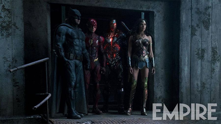 La Justice League casi al completo