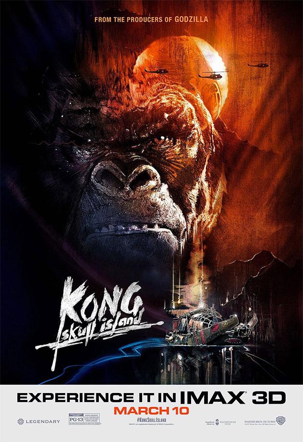 Kong: la Isla Calavera se hace IMAX y Apocalpyse Now