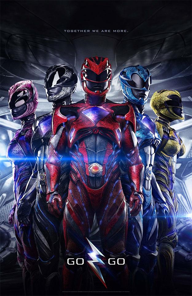 Un nuevo cartel de Power Rangers