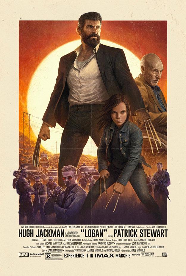 Cartel IMAX de Logan