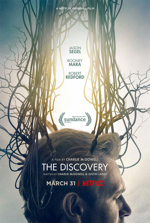 Cartel de The Discovery con Robert Redford