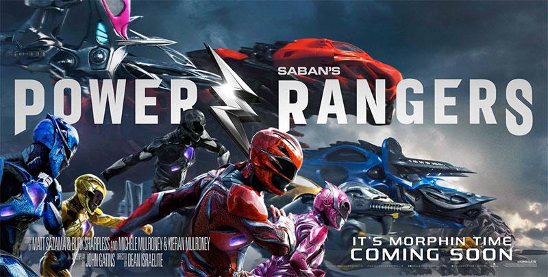 Nuevo cartel de Power Rangers