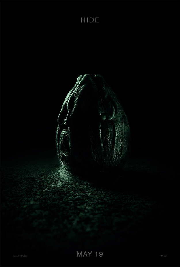 El último cartel de Alien: Covenant