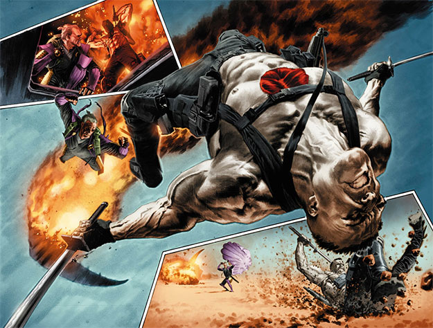 Bloodshot de Valiant Comics or Brian Reber y Lewis Larosa