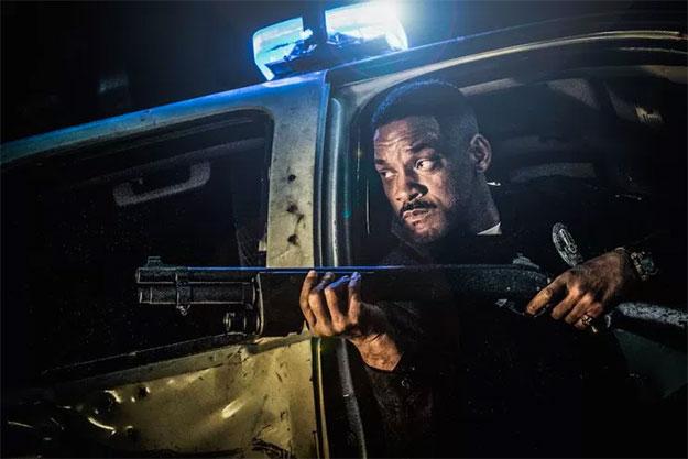 nuevas imágenes de Bright con Will Smith