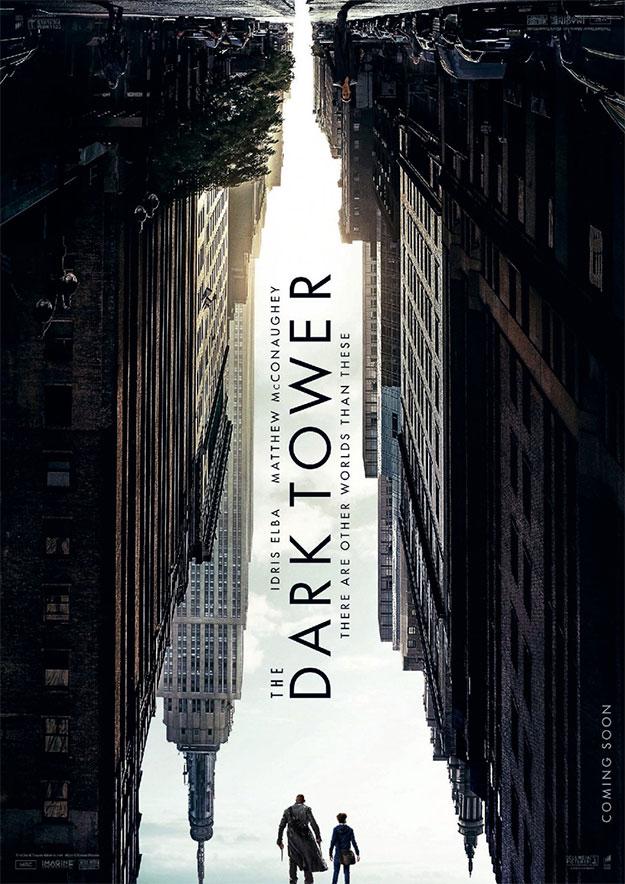 El primer cartel de la adaptación a cine de La Torre Oscura de Stephen King