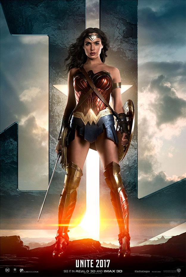 Un nuevo cartel de Justice League: Wonder Woman