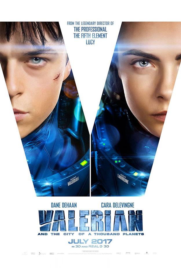 Un nuevo cartel de Valerian y la ciudad de los mil planetas