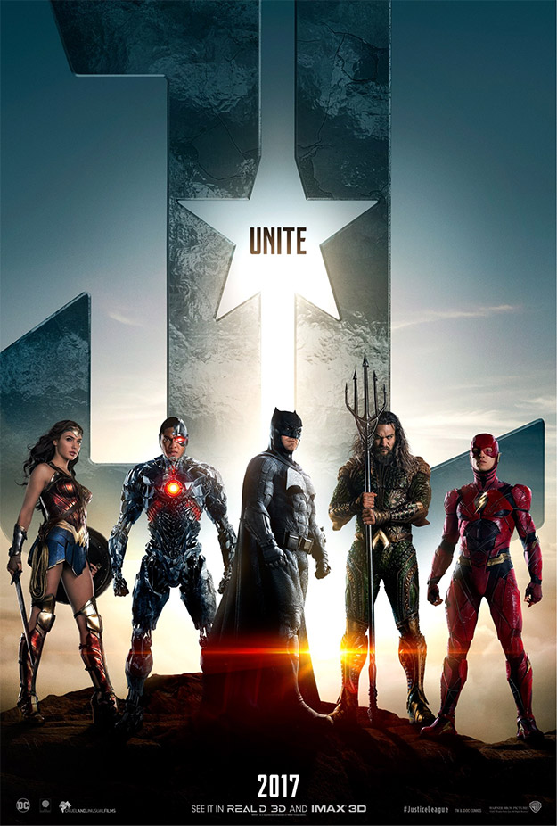 Un nuevo cartel de Justice League: Aquaman
