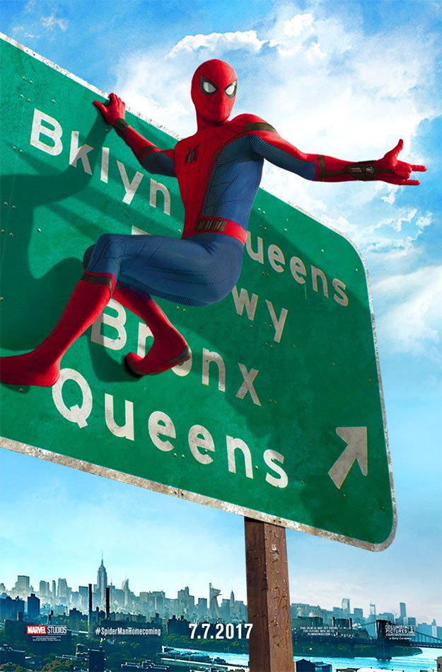 El tercer cartel de Spider-Man: Homecoming mola