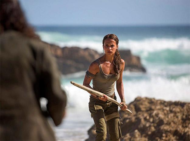 Alicia Vikander como Lara Croft en Tomb Raider