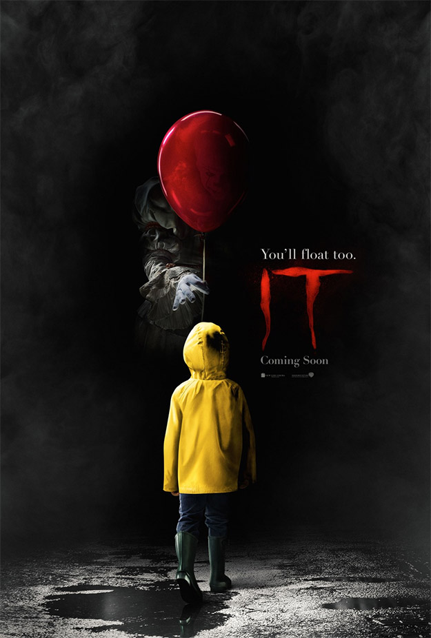 Fabuloso primer cartel de It de Andy Muschietti