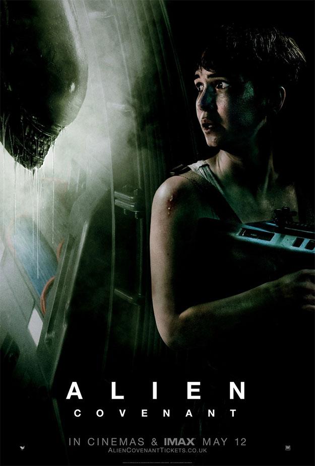Un nuevo cartel raruno de Alien: Covenant