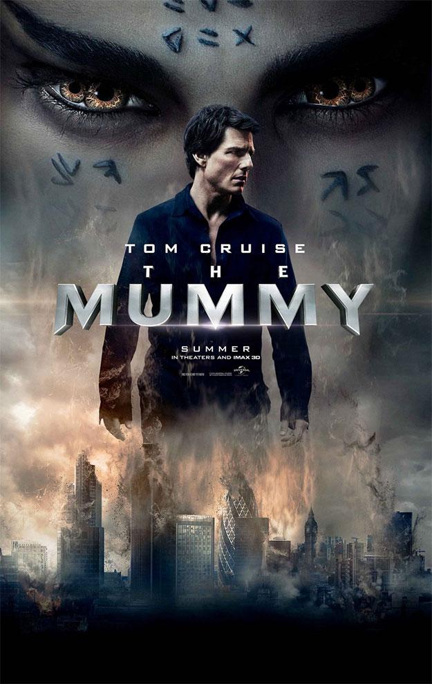 Un nuevo cartel de La momia con Tom Cruise