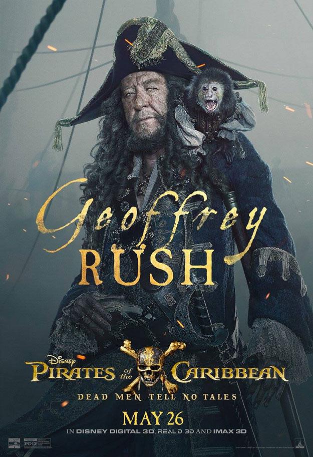 Viejos y nuevos rostros en Piratas del Caribe: la venganza de Salazar