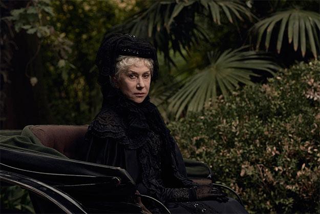 El aspecto de Helen Mirren en el thriller sobrenatural Winchester