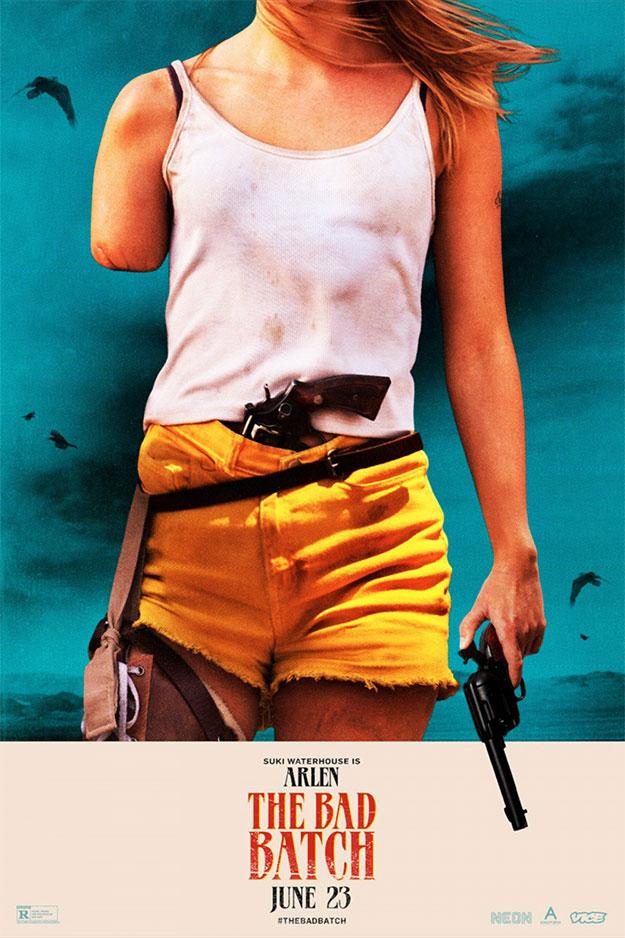 Genial cartel de Suki Waterhouse en The Bad Batch