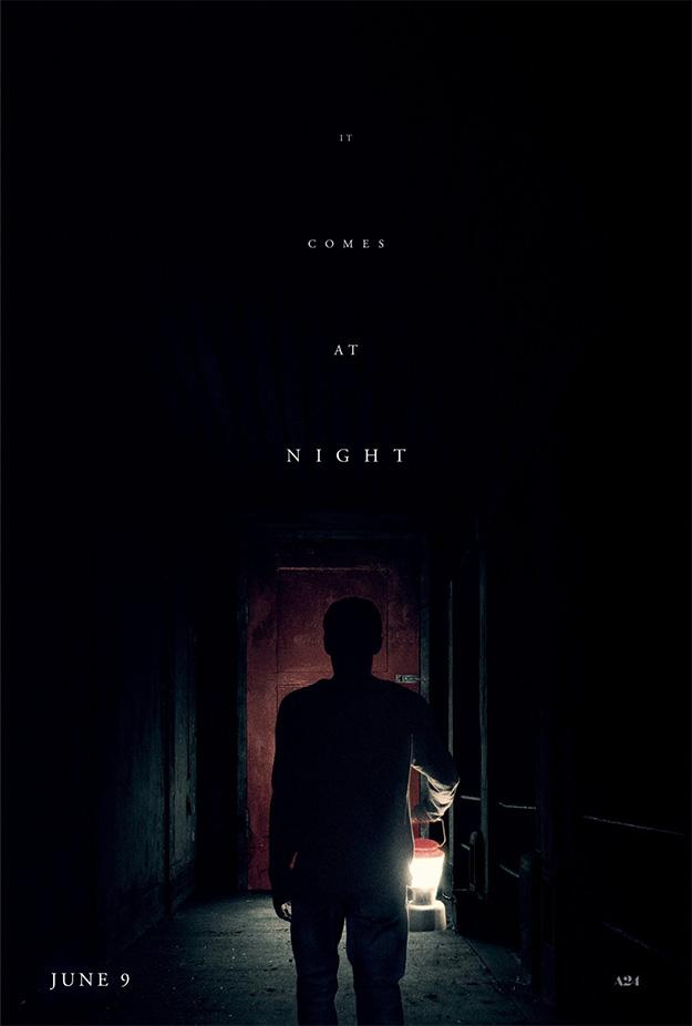 Cartel de It Comes at Night... ya sólo verlo mete miedo