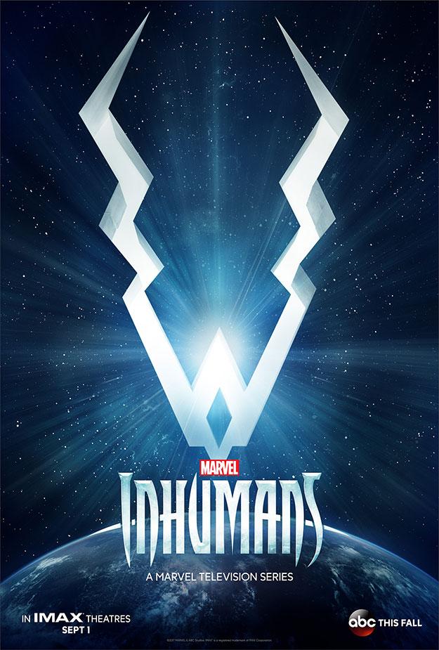 El primer cartel de Marvel's Inhumans es absolutamente comiquero
