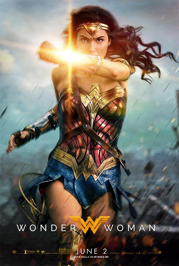 El cartel final de Wonder Woman (o al menos el último aparecido)