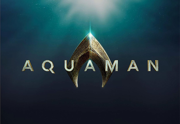 Logo oficial de Aquaman de James Wan
