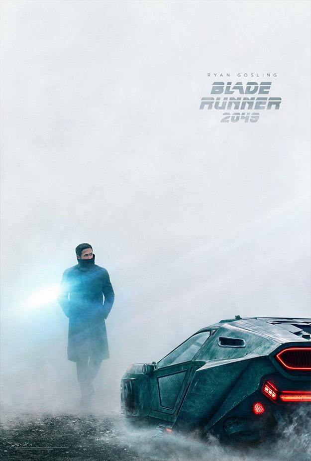 Cartel de Blade Runner 2049... Ryan Gosling