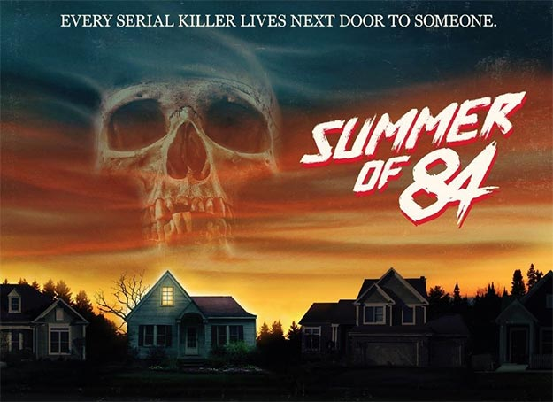 Aspecto mítico para este cartel de Summer of 84