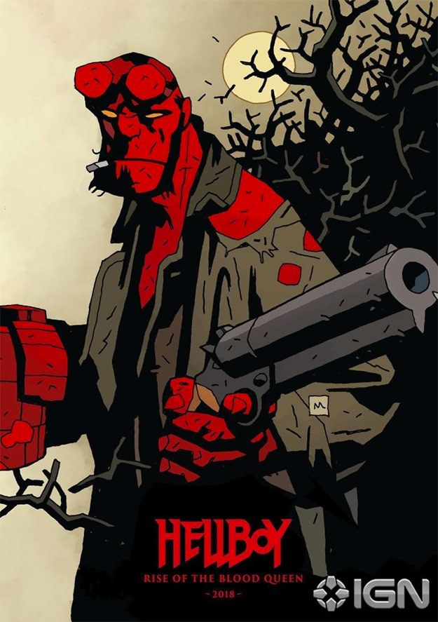 Así se vende Hellboy: Rise of the Blood Queen en Cannes