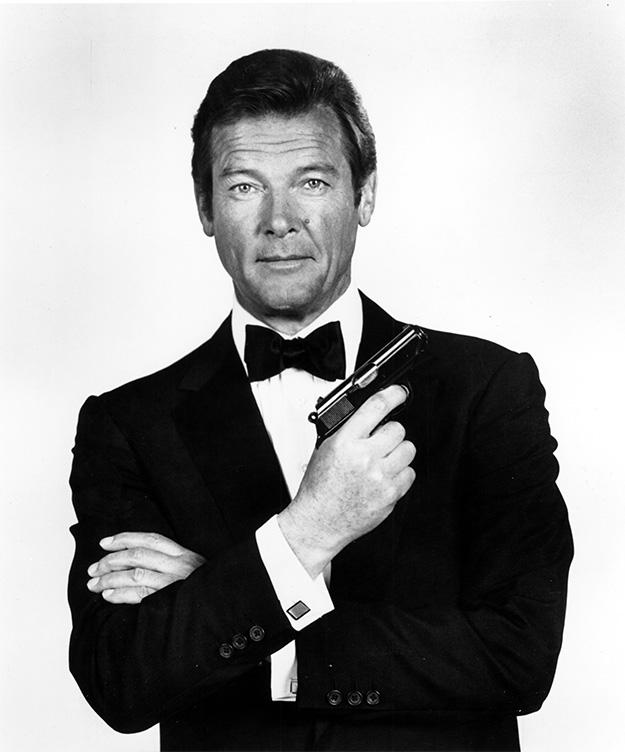 Mi más sincero respeto a Roger Moore, agente 007