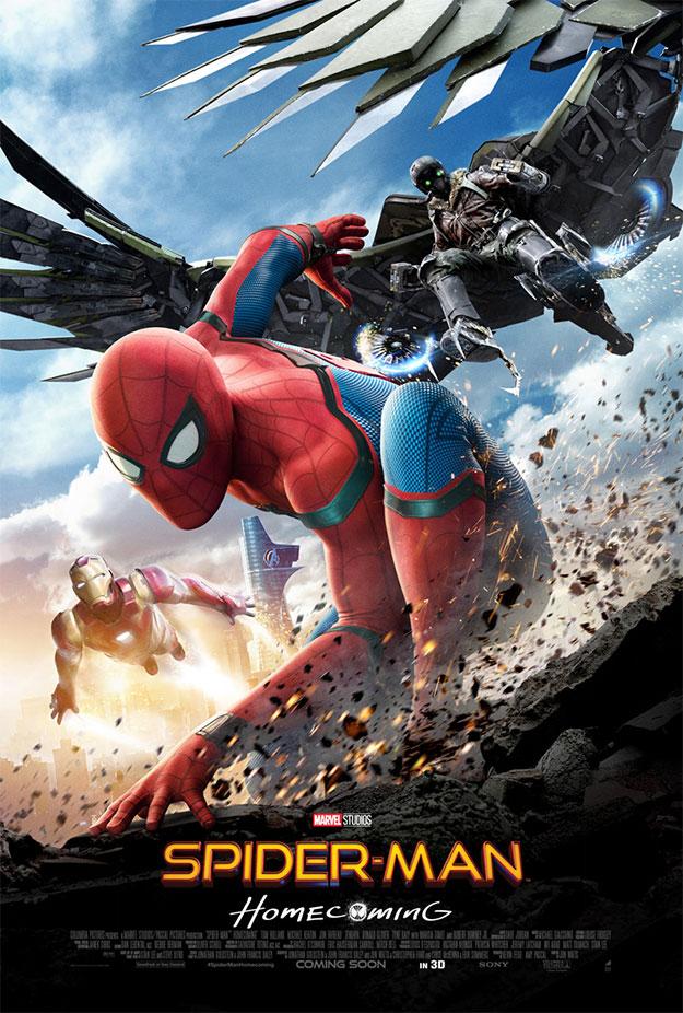 El otro nuevo cartel de Spider-Man: Homecoming