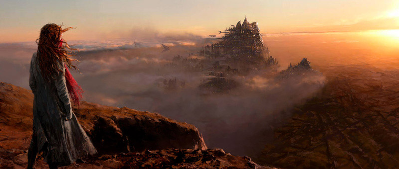 Concept art de Mortal Engines