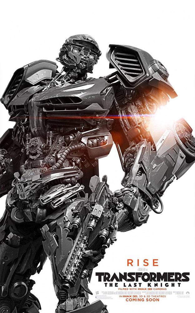 Otro póster más de Transformers: el último caballero