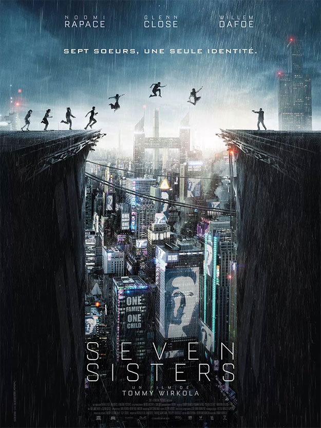 Cartel de Seven Sisters o What Happened to Monday?