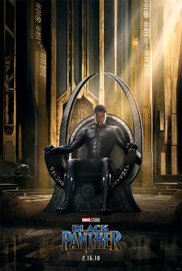 El primer cartel de Black Panther ve la luz y no es para echarle demasiados piropos