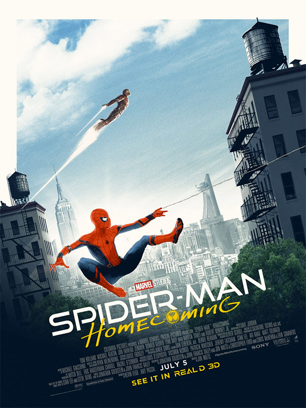 Interesante nuevo cartel de Spider-Man: Homecoming