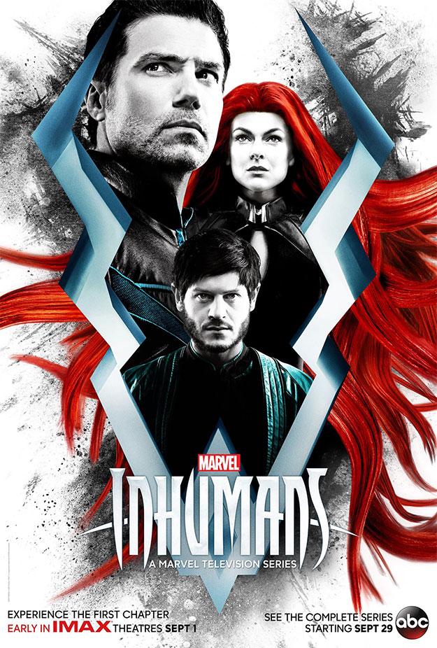 """""""Marvel's Inhumans"""", puede que el factor IMAX sea lo más sorprendente de la serie"""