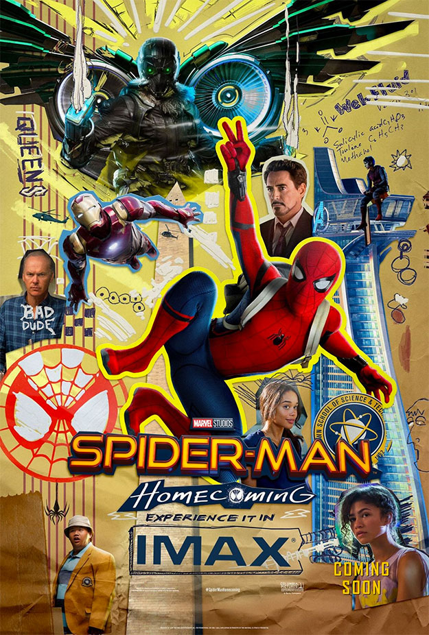Cartel IMAX de Spider-Man: Homecoming