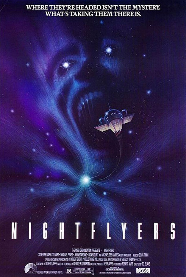 Cartel viejuno de Nightflyers