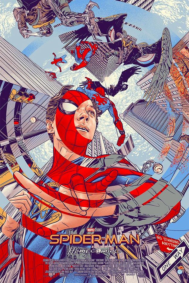 El nuevo cartel de Spider-Man: Homecoming, casi el mejor, a la venta en Mondo