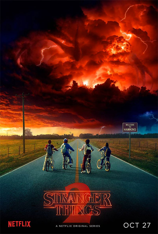 "Gran cartel este de ""Stranger Things 2"""
