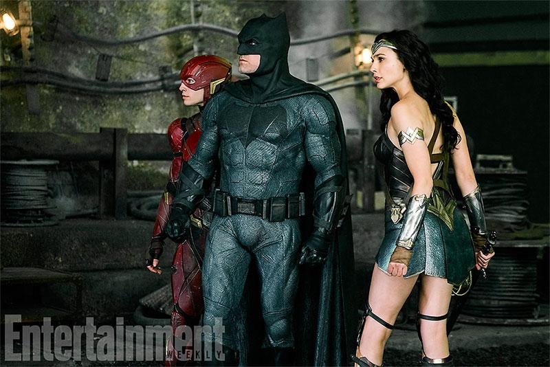 Flash, Batman y Wonder Woman, tres cabezas de serie en Liga de la Justicia