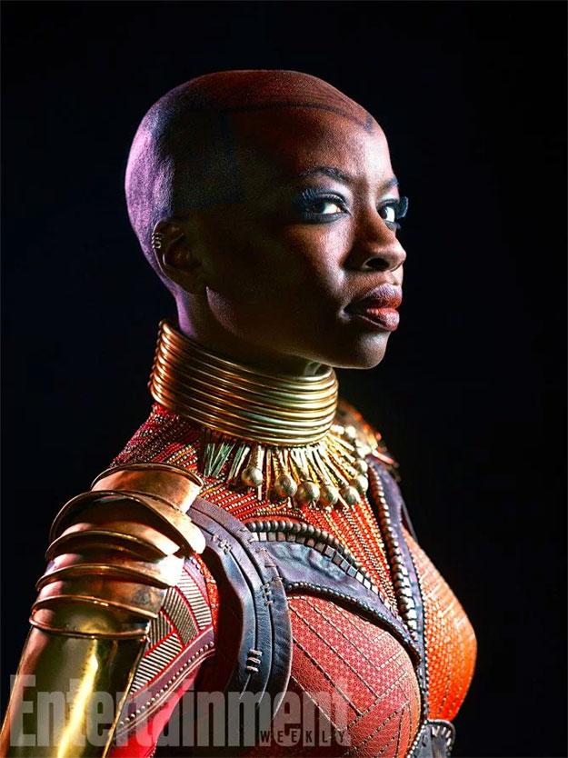 Danai Gurira como Okoye