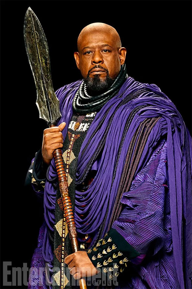 Forest Whitaker como Zuri