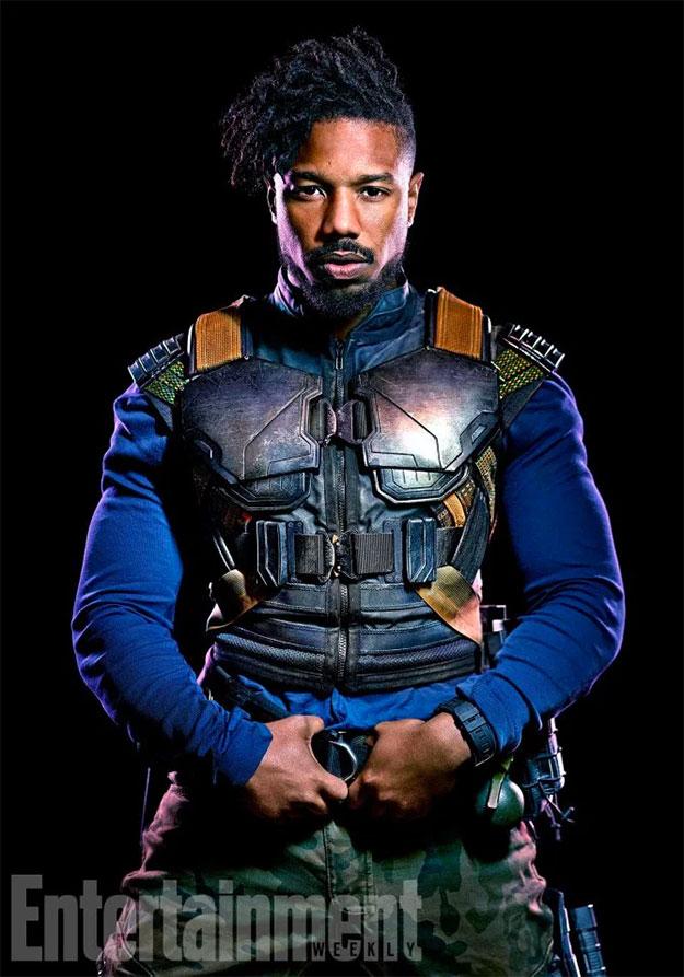 Michael B. Jordan como Erik Killmonger