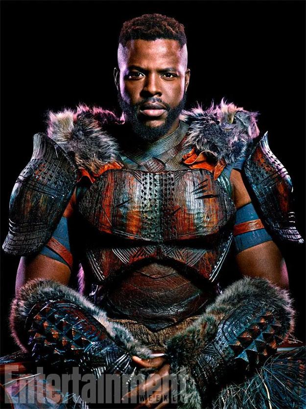 Winston Duke como M'Baku